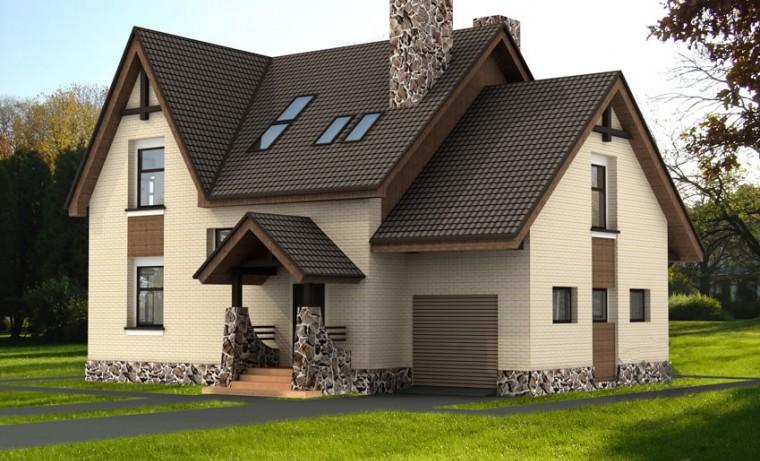 Металлочерепица – надёжная защита крыши