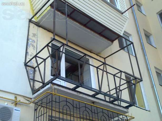 Реконструкция балкона строим и ремонтируем.