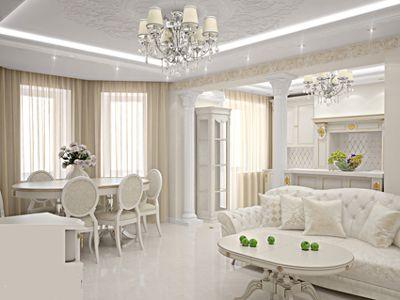 3D проектирование дизайна квартиры.