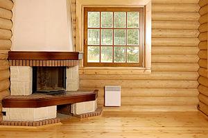 Правильная внутренняя отделка дома из деревянного бруса