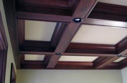 Кессонные потолки. Престижно и красиво