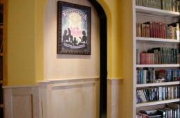 Устраиваем потайные двери, или как визуально спрятать дверь