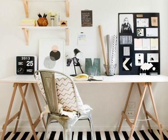 Как сделать стильный стол для домашнего кабинета своими руками