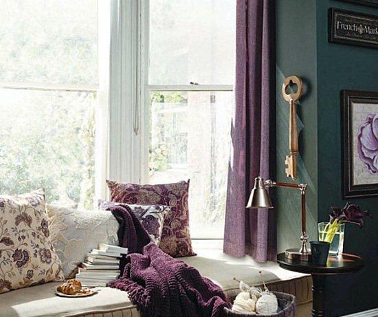 Подоконники-кушетки или зона отдыха у окна