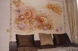 Роспись стен в детской комнате — словно дверь в сказку!