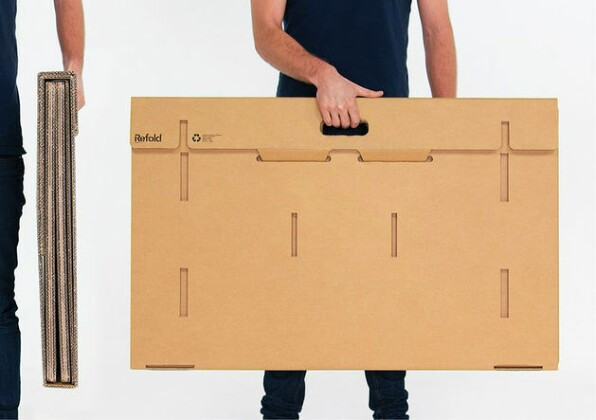 Экомебель нового поколения: уникальный картонный стол-конструктор