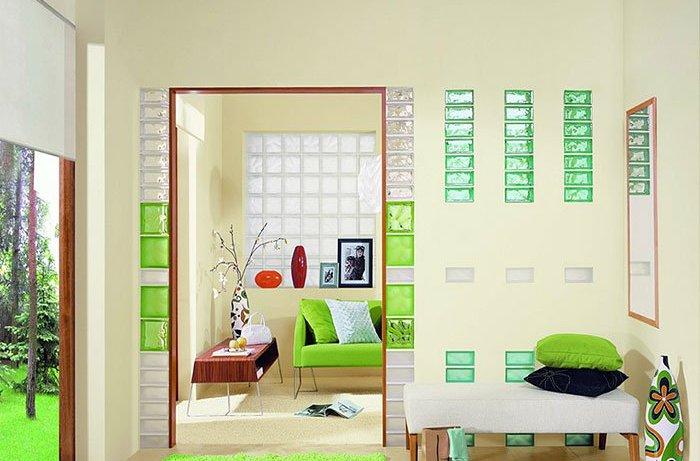 Почему стеклоблоки стали популярны в дизайне интерьеров