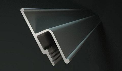 Что собой представляет потолочный багет для натяжных потолков