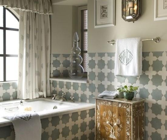 Интерьер ванной в марокканском стиле