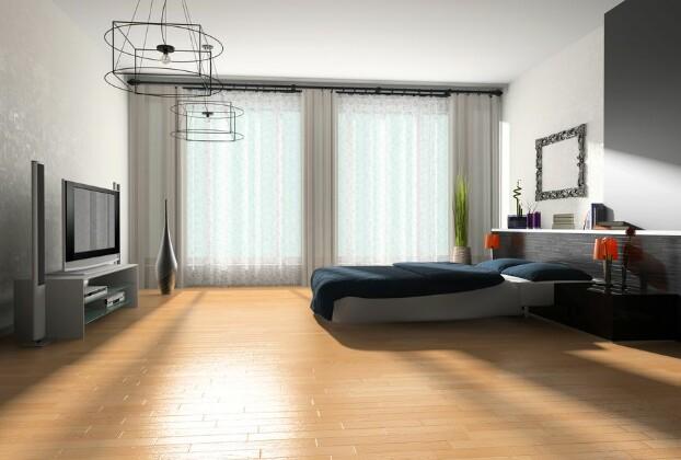 Как с комфортом обустроить ТВ-зону в спальне?