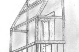 Самостоятельная установка крыши на балконе