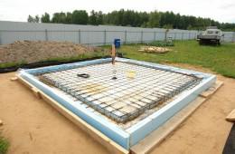 Фундамент «Шведская плита»