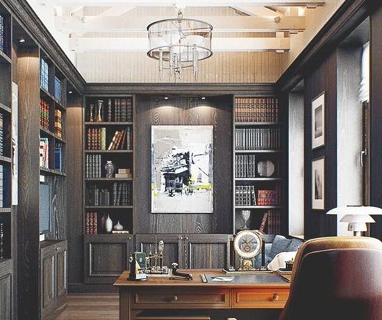 Креативный и яркий домашний офис