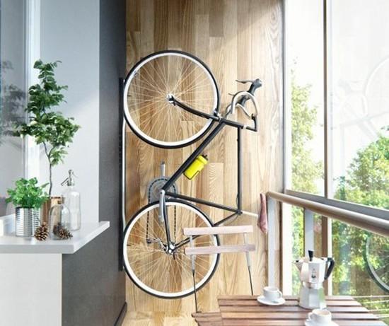 Велосипед в интерьере: как и где хранить