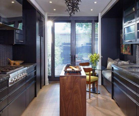 Черный цвет на кухне: насколько это возможно?