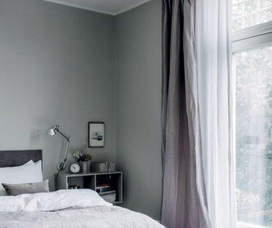 Красивая спальня, в которой приятно жить