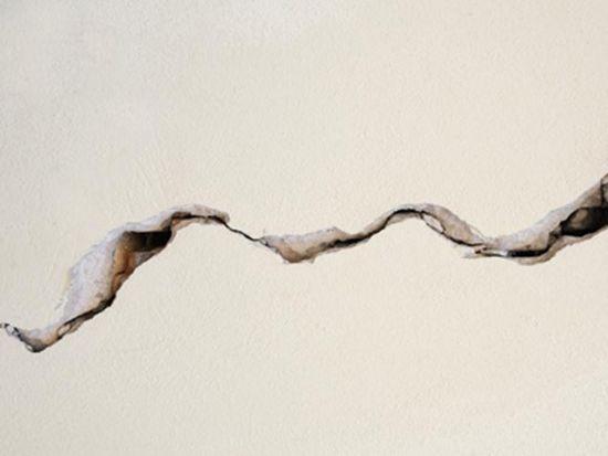 Как избежать трещин при штукатурке?