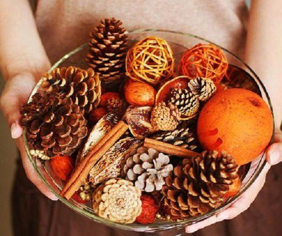 Осенний декор интерьера: тепло для души