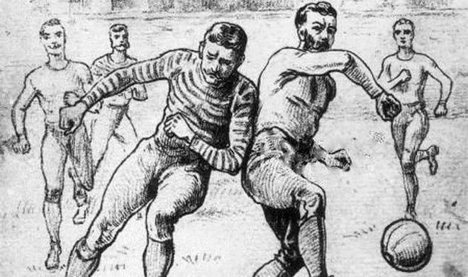 Появление футбола
