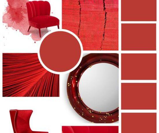 Возвращение красного цвета в дизайн интерьера, или знакомьтесь, Aurora red!