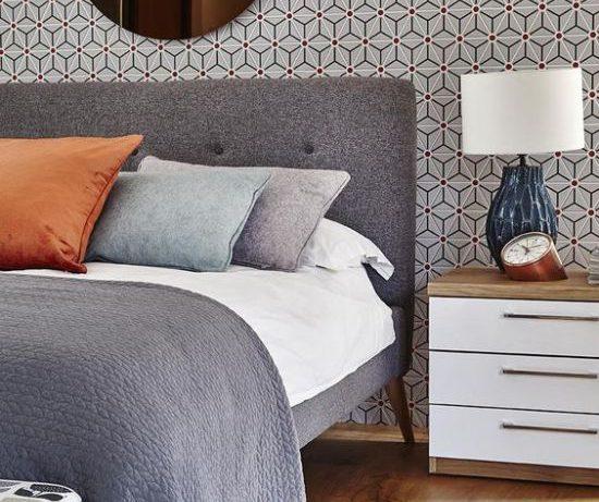 Назад в будущее: спальня в стиле mid-century