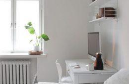 Рабочее место в спальне: 10 классных примеров