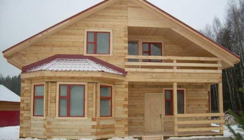 Особенности строительства брусовых домов