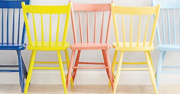 Как дать старым стульям, новую жизнь