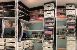 Как организовать места для хранения вещей?