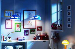 Как организовать свет в детской комнате?