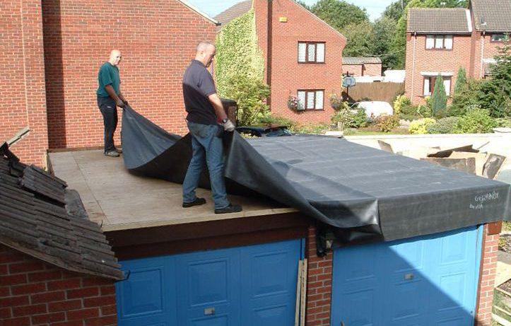 Как застелить крышу