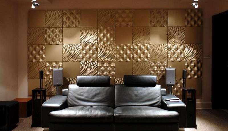 3D панели для стен: объемные эффекты в интерьере