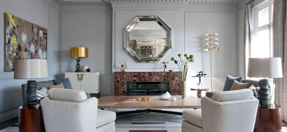 Зеркала в интерьере комнат