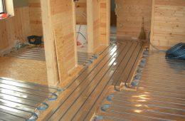 Как сделать тёплый пол в деревянном доме