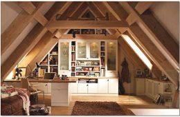 Дизайн и обустройство мансарды дачного дома
