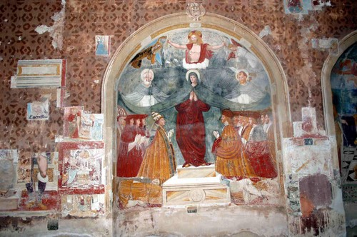 Фрески в интерьере – современная живопись с древней историей
