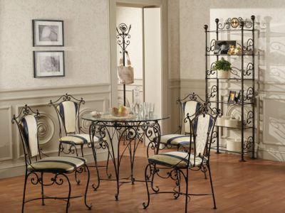 Кованая мебель – классика интерьера