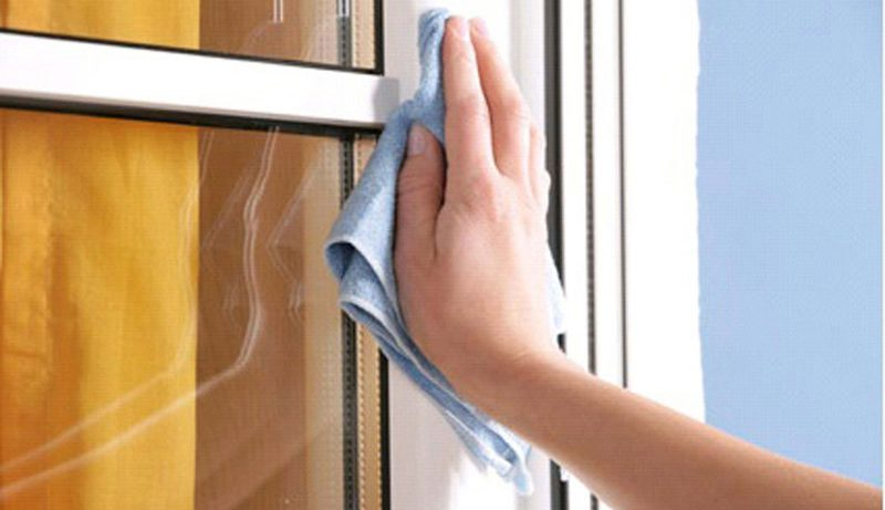 Как ухаживать за окнами?