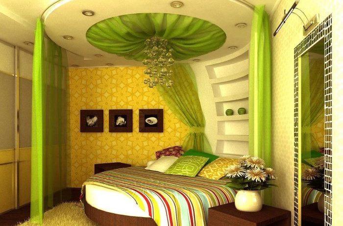Салатовый цвет в домашнем интерьере – лучшее из палитры природы