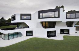 Современные коттеджи — красивый дизайн, комфорт и функциональность