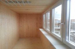 Балкон вашей мечты: оформление деревянной вагонкой