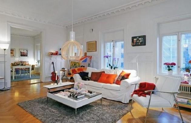 Реализация шведского стиля в интерьере квартиры