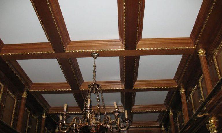 Потолок с балками: несущие конструкции как элемент дизайна интерьера