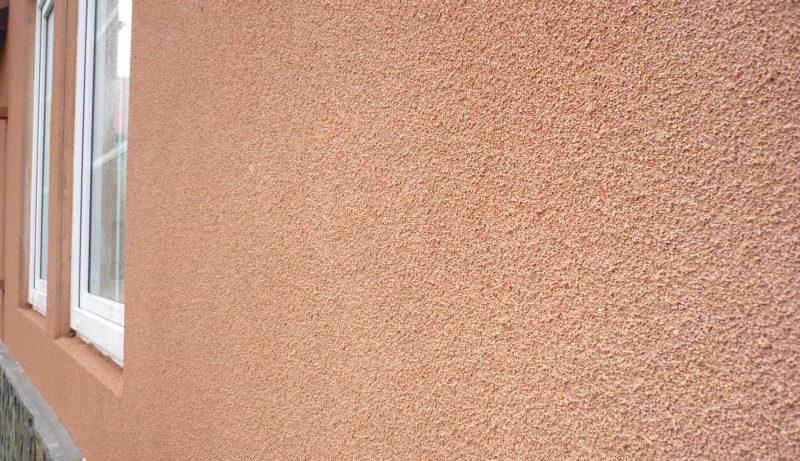 Пробковое покрытие для фасада дома: напыляемая натуральная пробка
