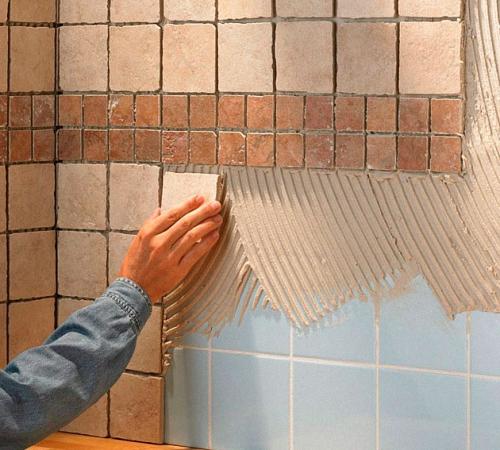 Как уложить плитку без швов