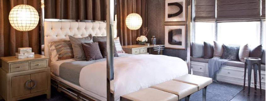 Кровать в спальне – ключевой элемент дизайна
