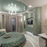 Стильный и современный дизайн квадратной гостиной