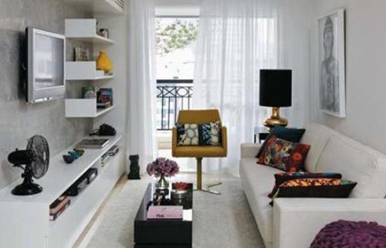 Дизайн комнаты узкой: решаем проблемы визуального расширения