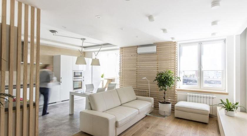 7 стильных и практичных идей для обстановки квартиры-студии