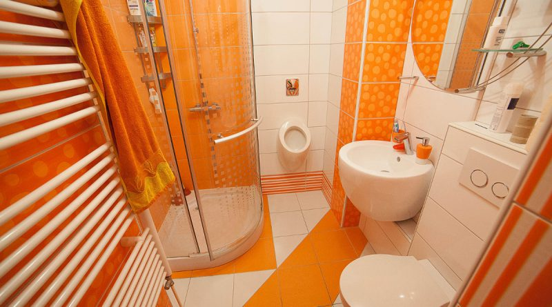 Цветовая гамма ванной комнаты
